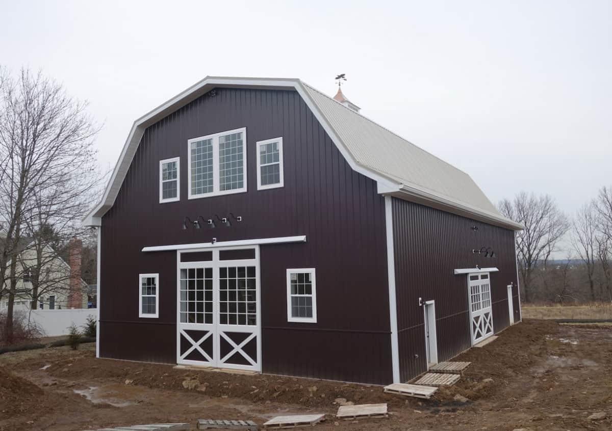 barn doors party barn cupola