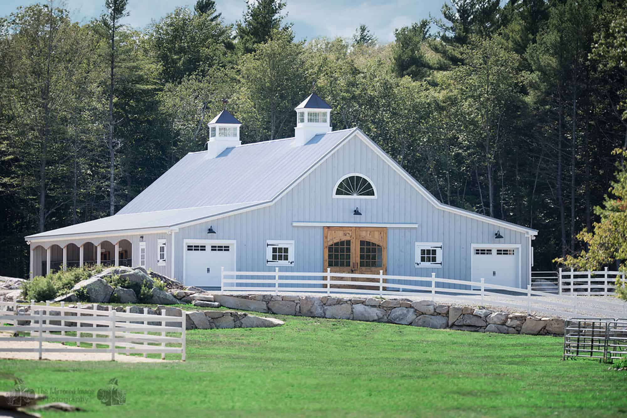Horse barn designs by Quarry View Building Group