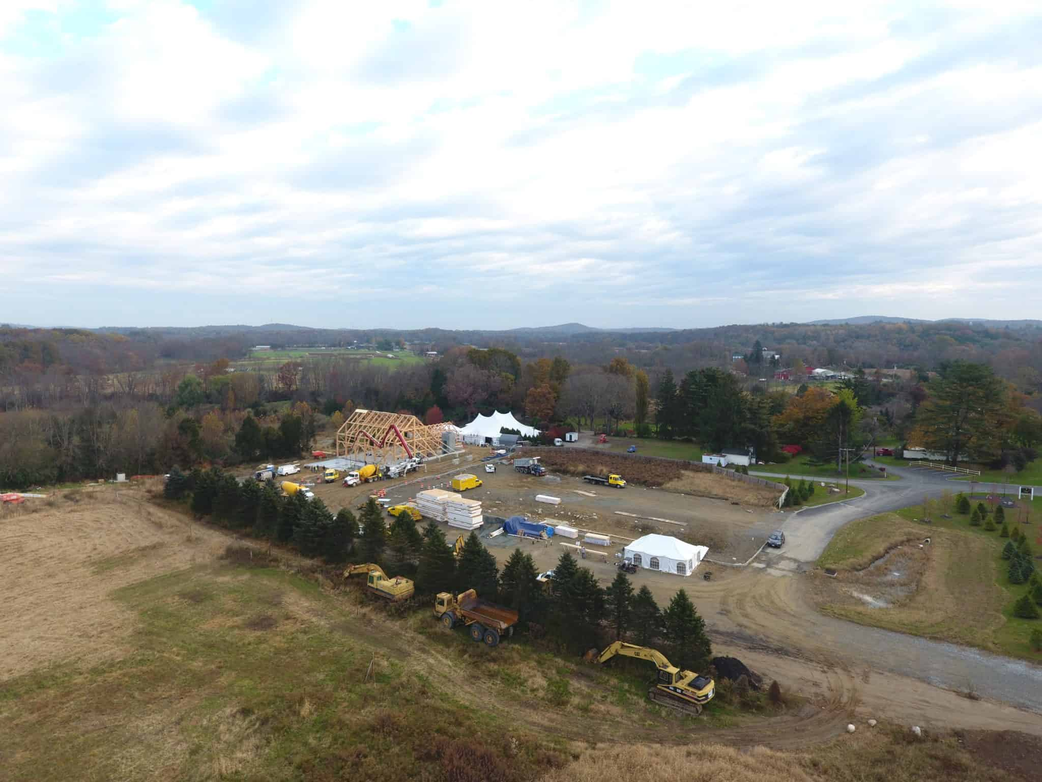 mass timber drone heavy equipment