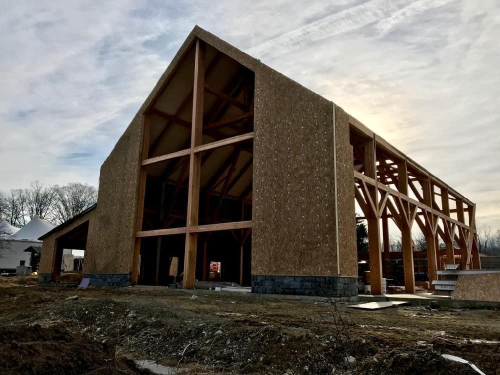 mass timber build process