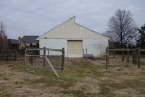 Multi-Use Barn Before