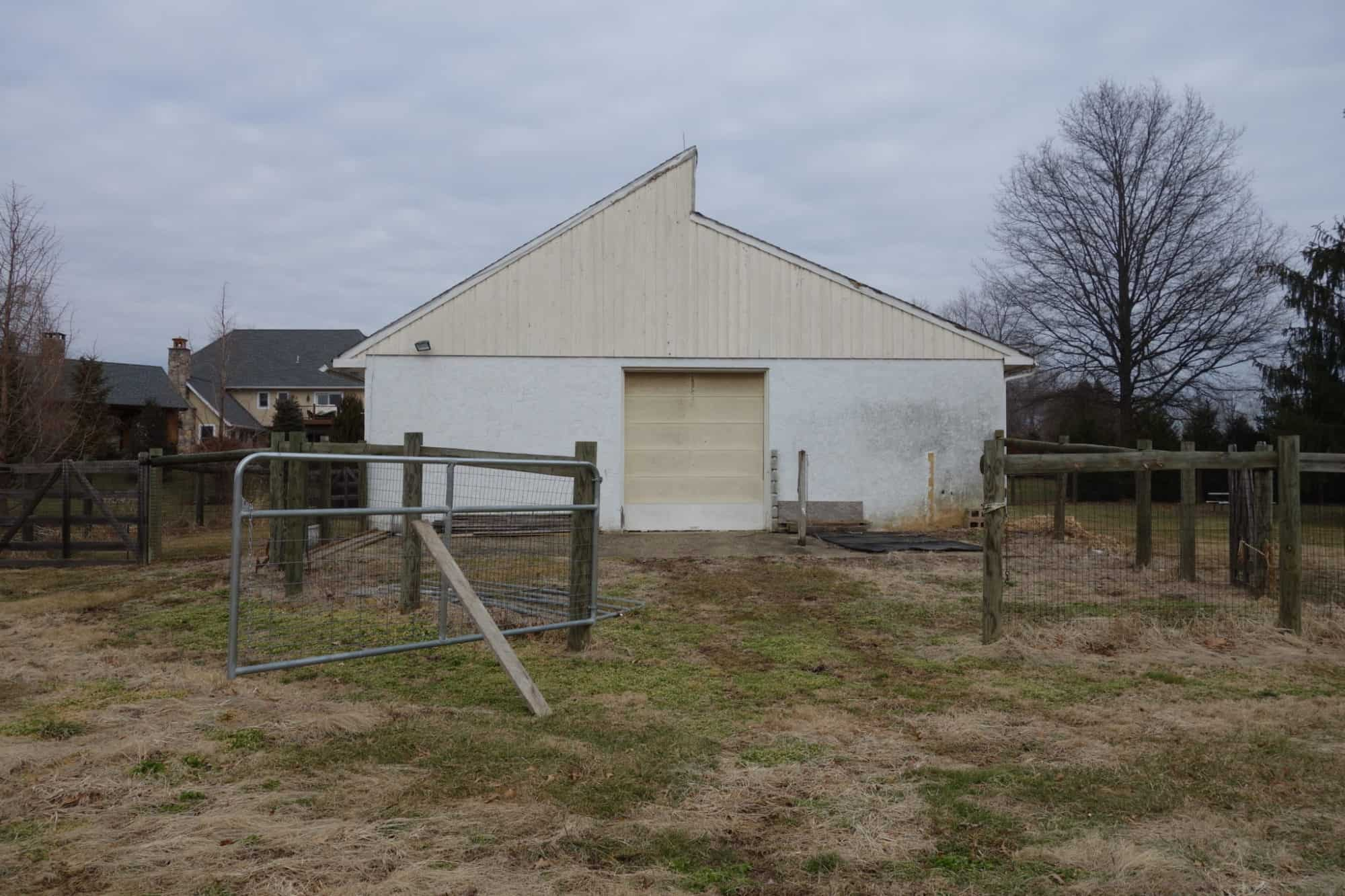 Multi-Use Barn Before