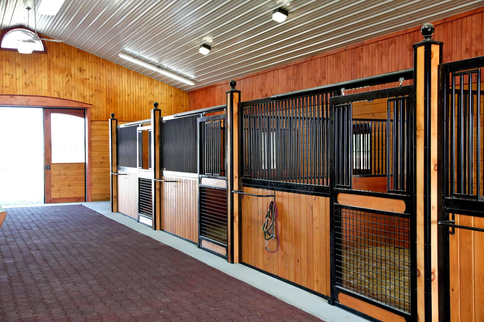 horse stalls restore after