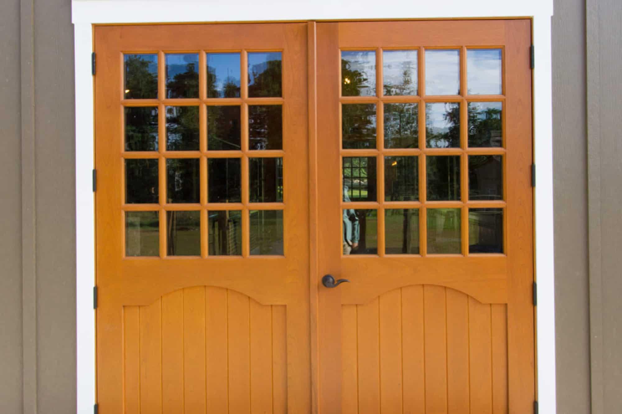 double doors custom door