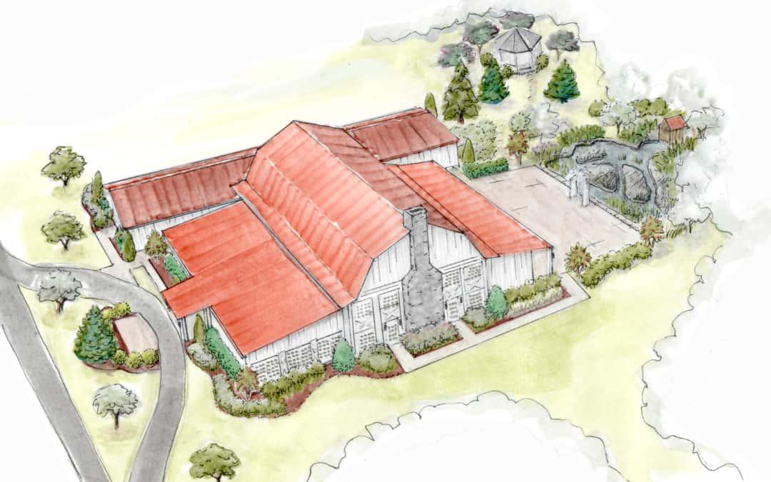 The Historic Rosemont Manor Estate Gains a New Wedding Barn Venue