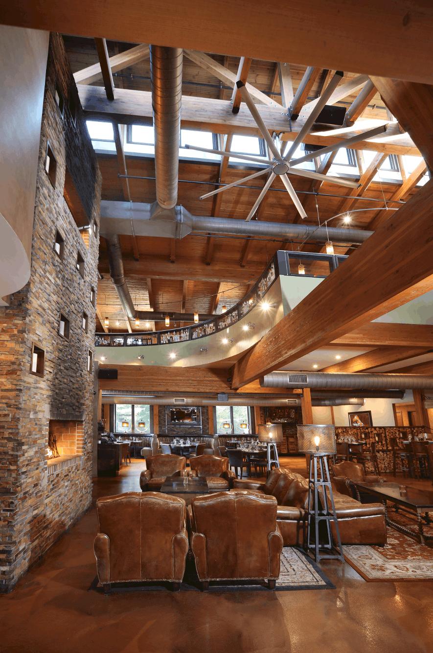 mass timber skylight loft