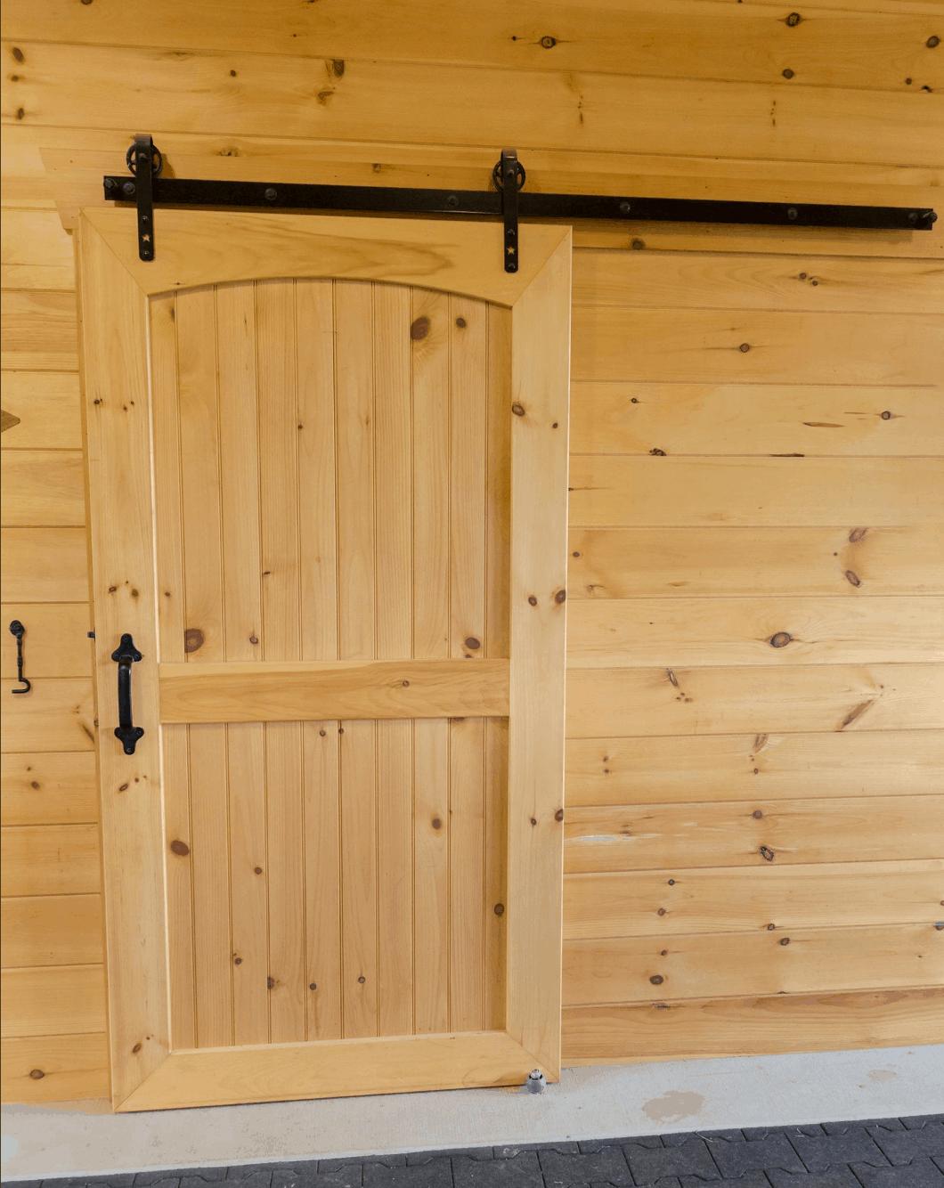 barn door wood grain knotty pine
