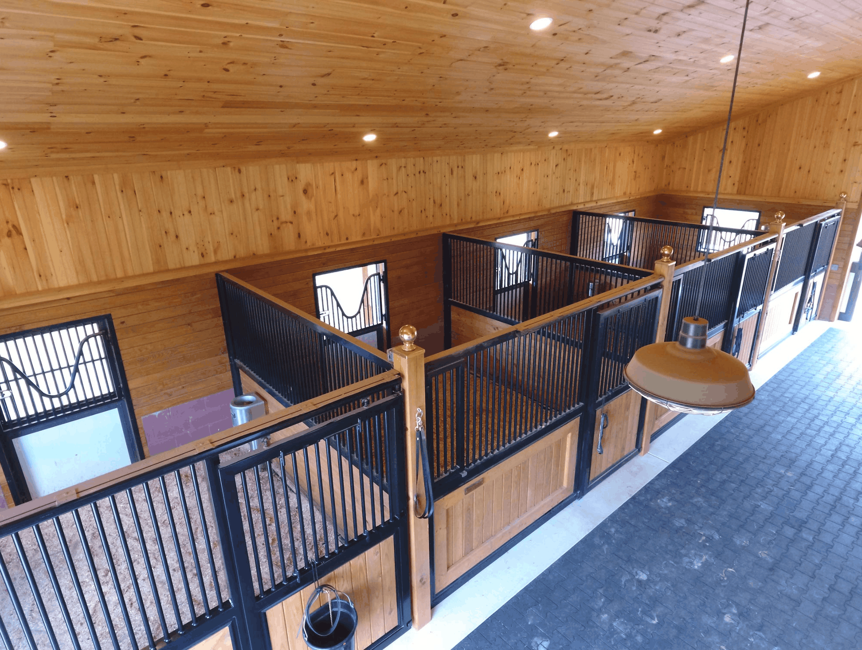 drone horse stalls