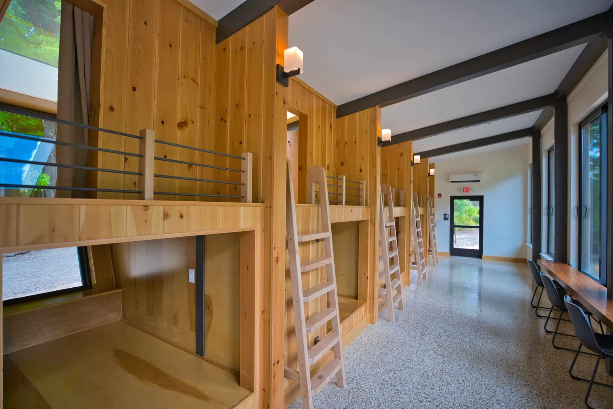 bunk bed wood ladder