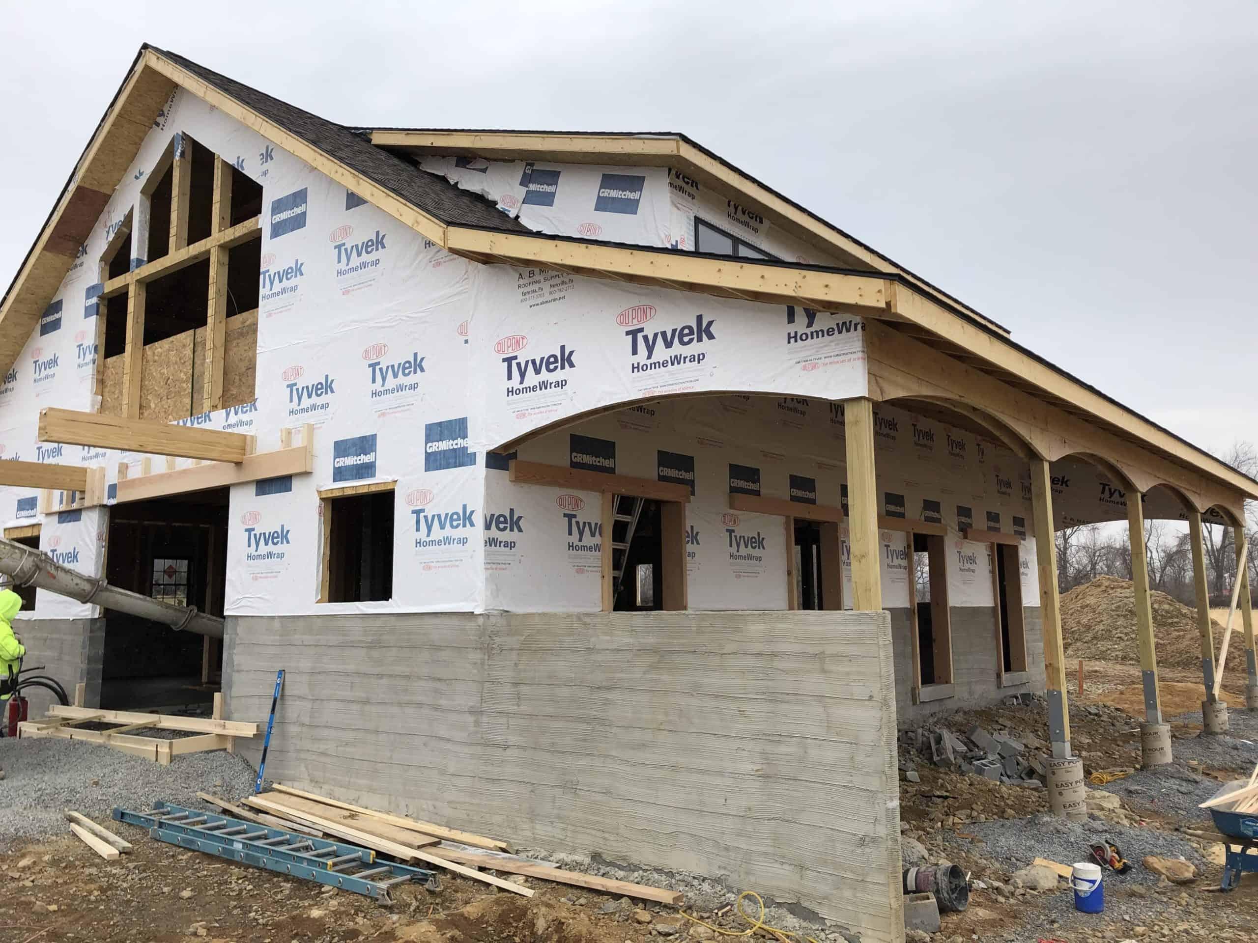 timber frame tyvek