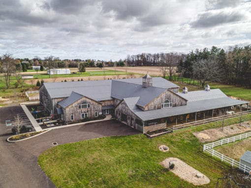 horse barn and riding center