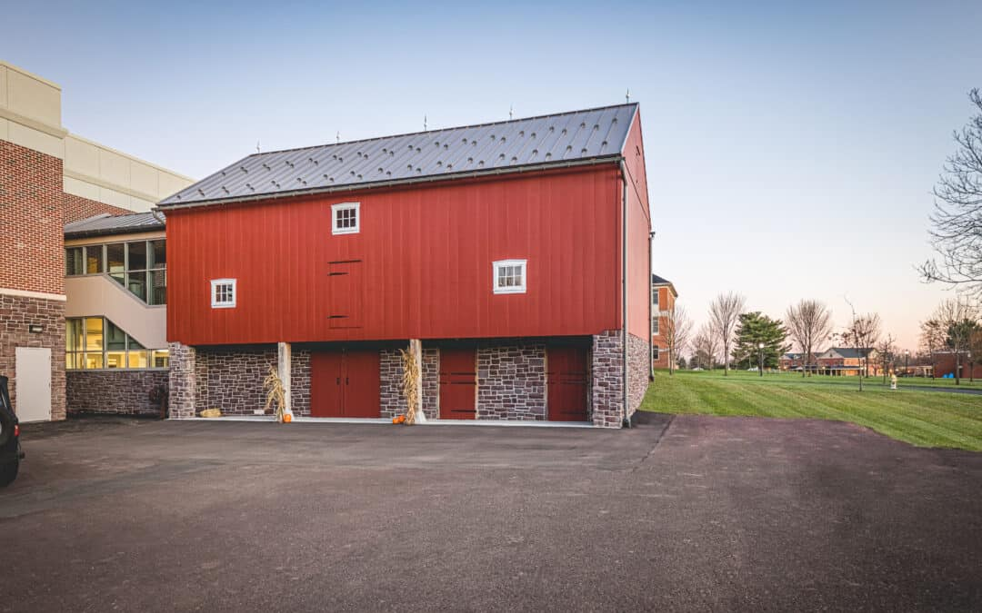 Schwenkfelder Barn Move / Restoration